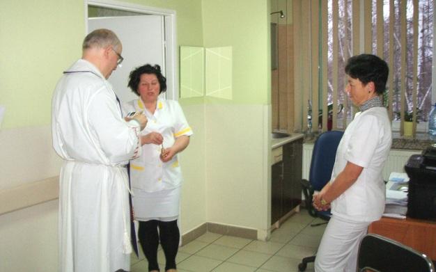 Kolęda w Oddziale Rehabilitacji