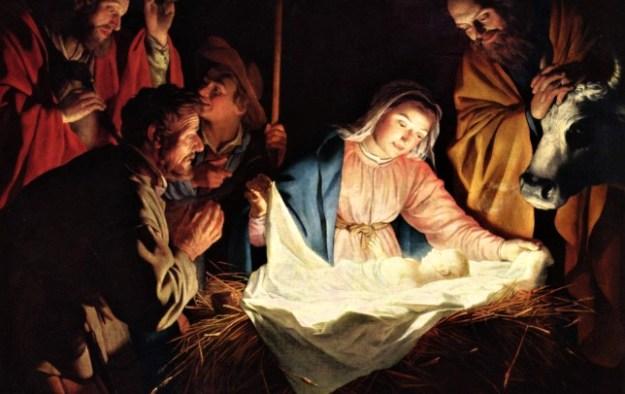 Gerard van Honthorst - Boże Narodzenie