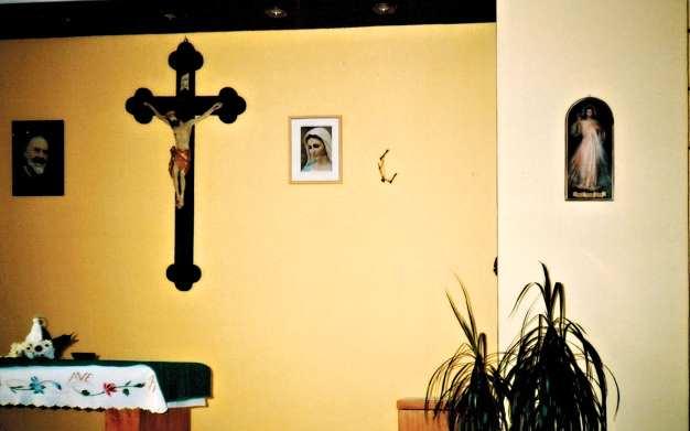 Kaplica przed wizytacją
