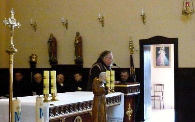 o. Bogusław Piechuta OFM Cap - krajowy Moderator Grup Modlitwy św. Ojca Pio