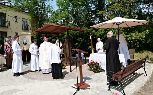 Poświęcenie figury św. ojca Pio